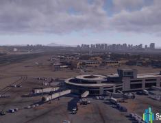 KSAN 샌디에고 국제공항 시너리(San Diego Intl. Airport 1.0.1)